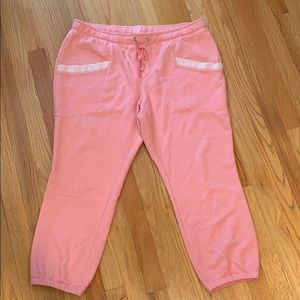 Size XL pink/coral joggers from NY and Co.